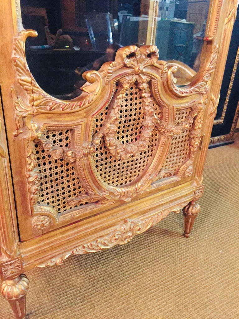 French Cabinet in Louis XVI Style For Sale 6