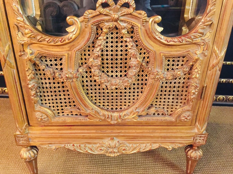 French Cabinet in Louis XVI Style For Sale 9