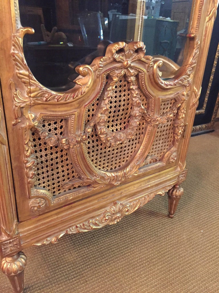 French Cabinet in Louis XVI Style In Good Condition For Sale In Berlin, DE