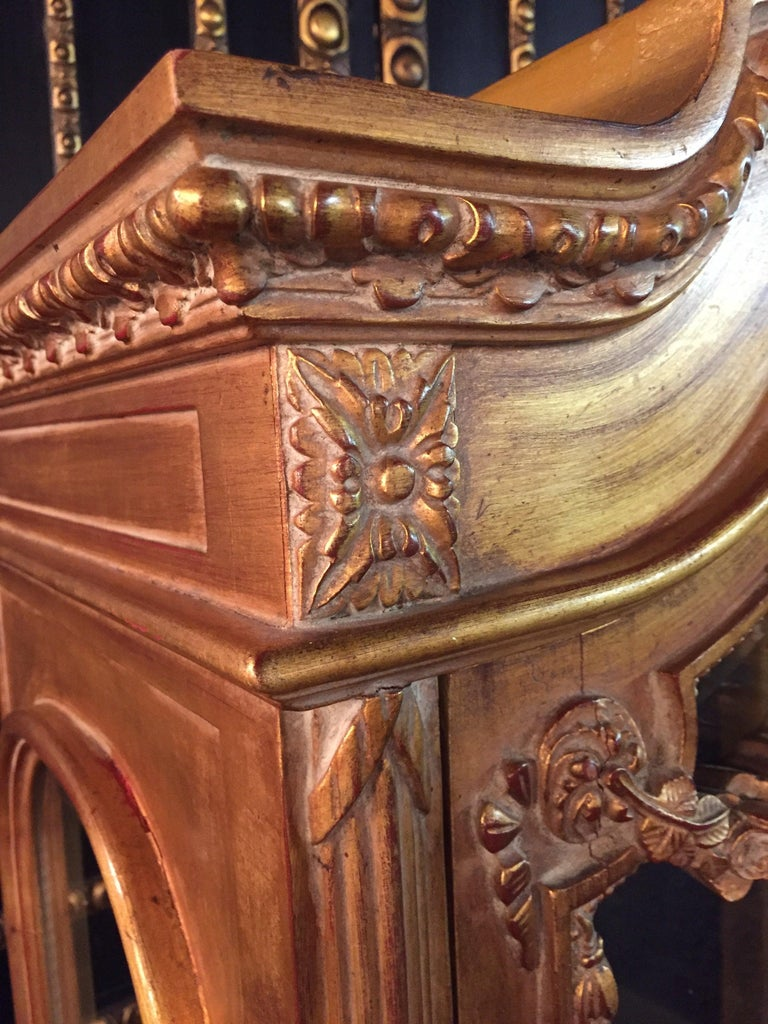 Beech French Cabinet in Louis XVI Style For Sale