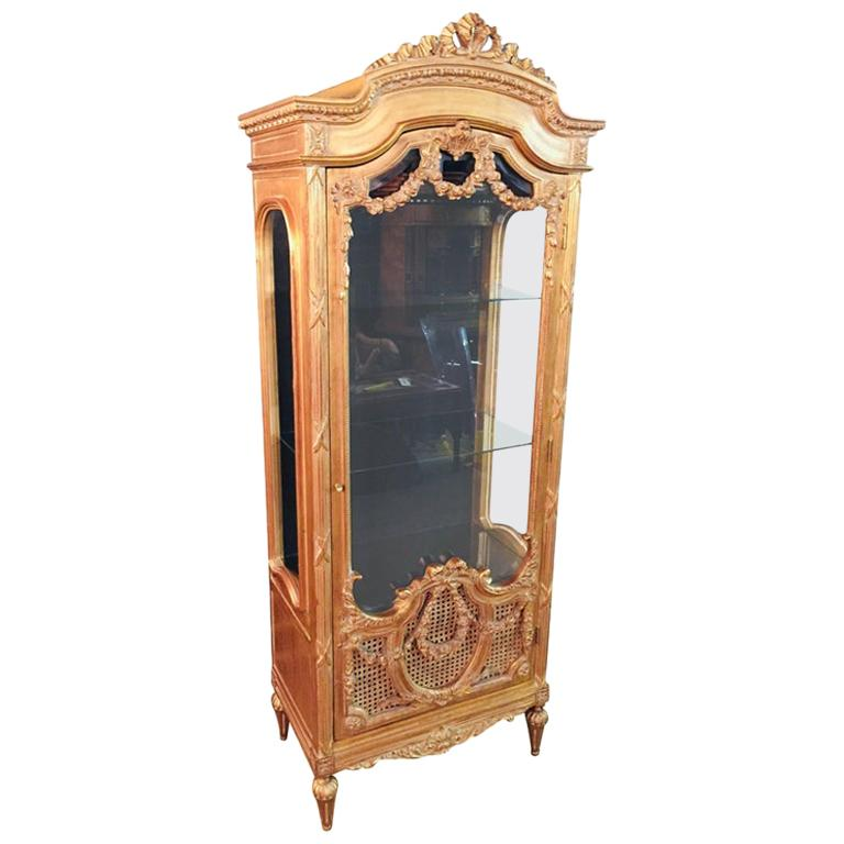 French Cabinet in Louis XVI Style For Sale