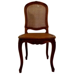 French Cane Side Chair