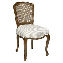 French Caned Egerton Dining Chair, 20th Century