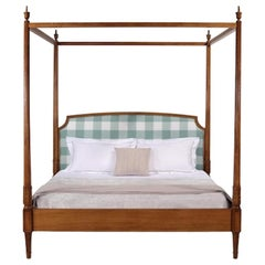 French Canopy Louis XVI Bed Frame, 20th Century