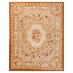 French Carpet Aubusson Style, 20th Century