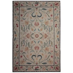 French Carpet Aubusson Style Needlepoint Handwoven Chinese Rug