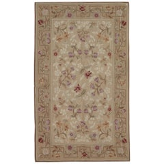 French Carpet Aubusson Style Rug Handwoven Chinese Tapestry
