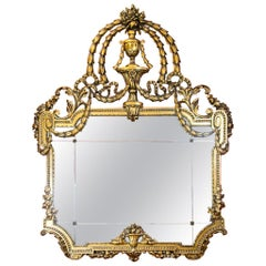 French Carved Gilt Mirror