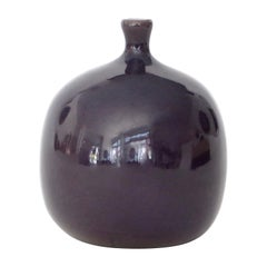 Jacques and Dani Ruelland French Ceramic Artists  Ceramic Vessel Vase