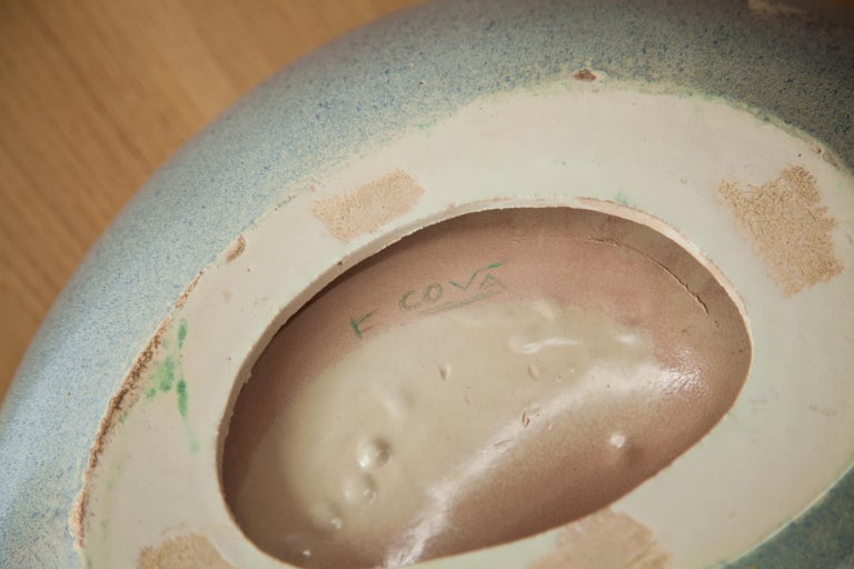 French Ceramic Catch All Bowl In Good Condition For Sale In Brooklyn, NY