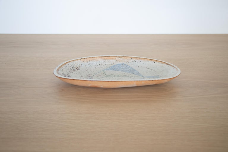 20th Century French Ceramic Fish Dish