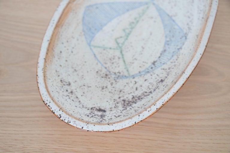 French Ceramic Fish Dish 3