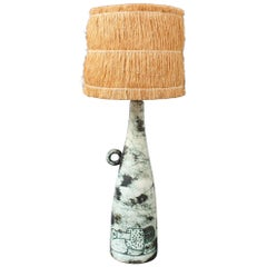 French Ceramic Lamp by Jacques Blin, circa 1950s