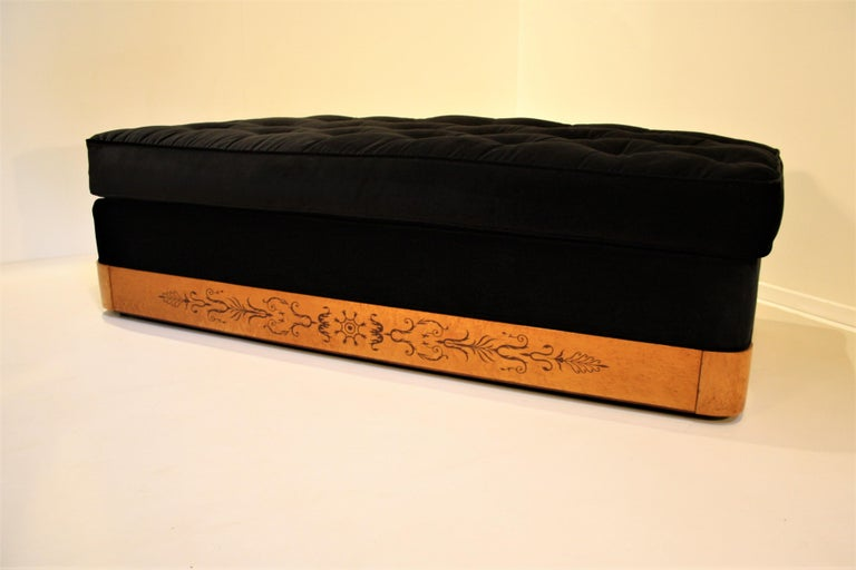 French Charles X Daybed, 1825 For Sale 3