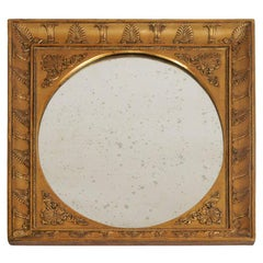 French Charles X Style Neoclassical Giltwood Mirror