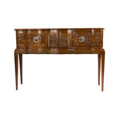 French Cherry Hall Console Table