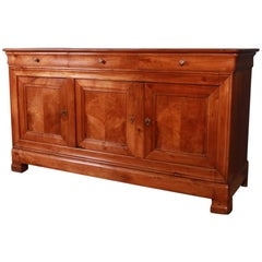 French Cherrywood Enfilade / Sideboard