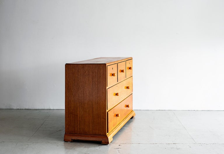 French Chest of Drawers, circa 1940s In Good Condition For Sale In Los Angeles, CA