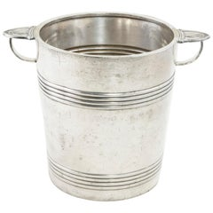 French Christofle Silver Champagne Bucket from Georges V Hotel in Paris