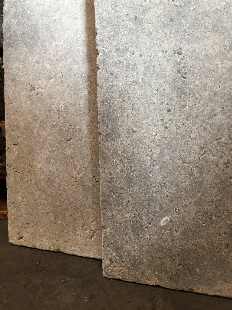 French Church Style Flooring in Stone In Good Condition For Sale In LOS ANGELES, CA