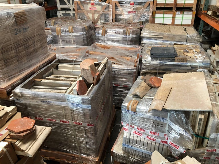 French Church Style Flooring in Stone For Sale 3