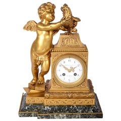 French Classical Mantel Clock, circa 1880
