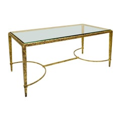 French Coffee Table by Maison Baguès, 1960s