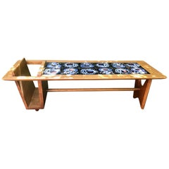 French Coffee Table, Guillerme et Chambron, 1960
