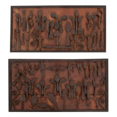 French Collection of Forged Iron Fragments