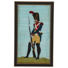 French Colorful Soldier Painting