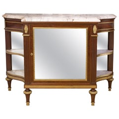 French Commode Desserte, End of Louis XVI Period