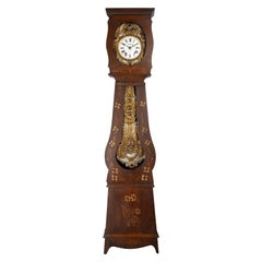 French Comtoise Grandfather Clock or Comtoise