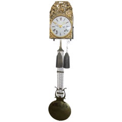 French Comtoise Repeater Wall Clock
