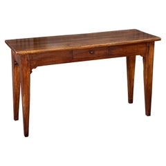 French Console Table or Sideboard of Cherry