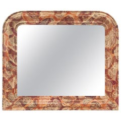 "French Contemporary Mirror, ""Fauve"" by Pascal & Annie"