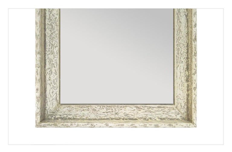 Late 20th Century French Contemporary Mirror,