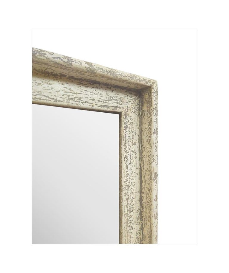 Gesso French Contemporary Mirror,