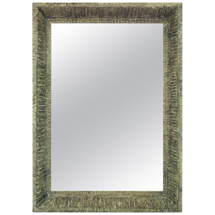 """French Contemporary Mirror, """"Lichen"""" by Pascal & Annie"""