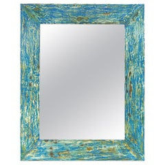 French Contemporary Mirror, Ocean by Pascal & Annie