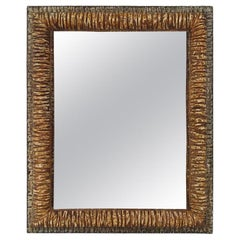 "French Contemporary Mirror, ""Relief"" by Pascal & Annie"