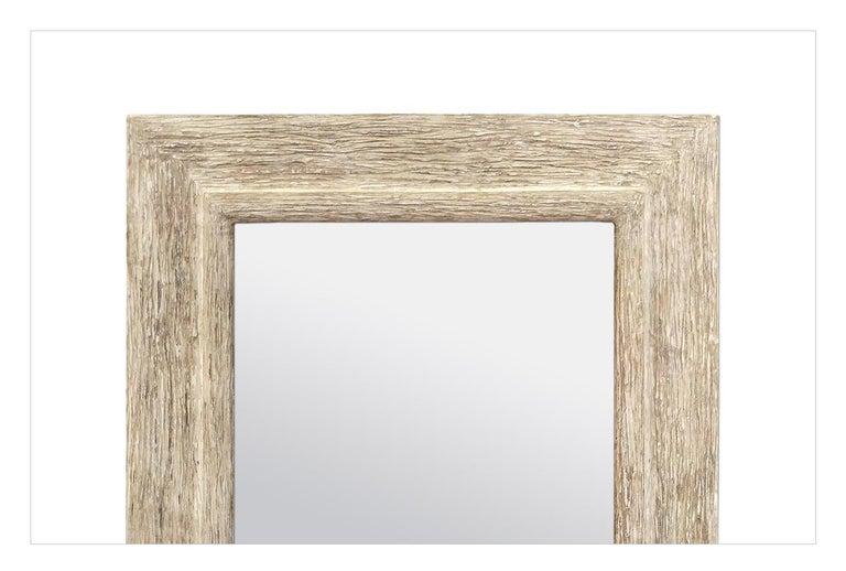 Gesso French Contemporary Mirror,