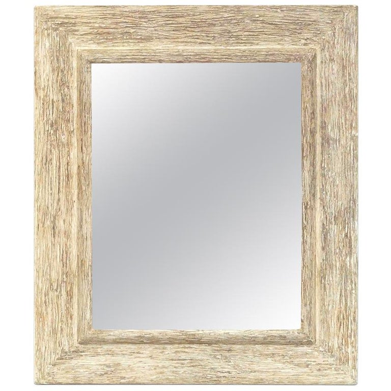"""French Contemporary Mirror, """"Sable"""" by Pascal & Annie For Sale"""