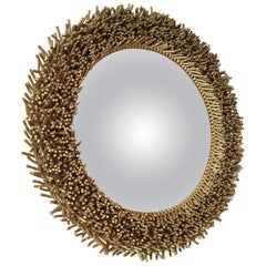 French Contemporary' Tacsor' Convex Mirror, by Christian Astuguevieille