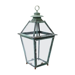 French Copper and Brass Lantern