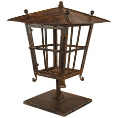 French Copper and Iron Lantern
