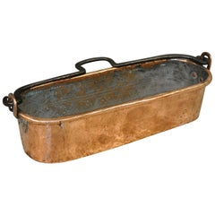 French Copper Fish Pan