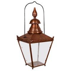 French Copper Lantern