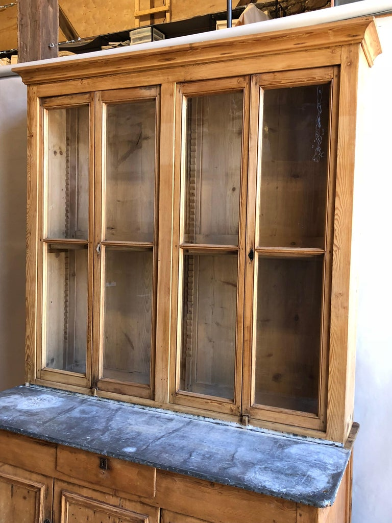 Pine French Country Cabinet, 18th Century