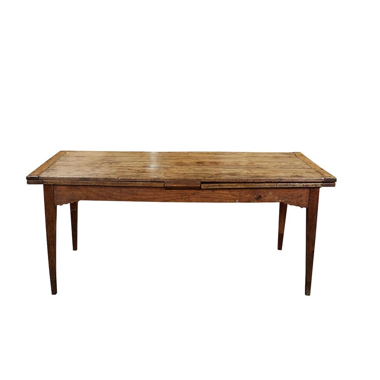 French Country Dining Table With Pull Out Leaves For Sale At 1stdibs