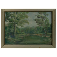 French Country Landscape Painting